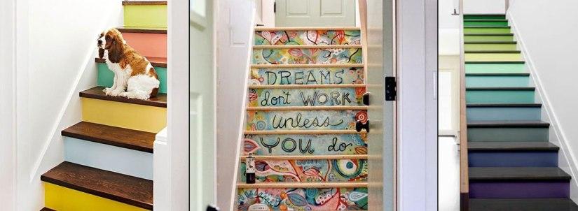 Ideias criativas para a escada de seu sobrado ouduplex