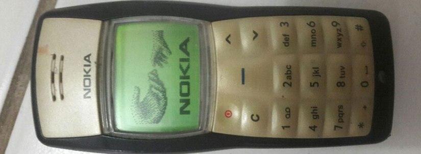Nokia 1100: uma raridade inquebrável noOba